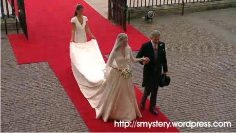 Foto Gaun Pengantin Kate Middleton